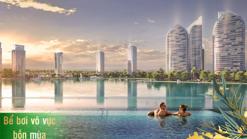 Tiện ích bể bơi vô cực TMS Homes Wonder World